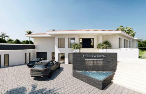 Villa Macarena: uitzonderlijke villa op wandelafstand van Puerto Banus