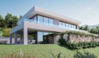 la finca de jasmine benahavis costa del sol spanje vamoz nieuwbouw moderne villa te koop zeezicht modern clubhuis