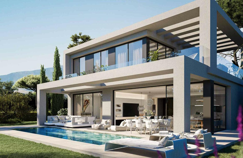 la finca de jasmine benahavis costa del sol spanje vamoz nieuwbouw moderne villa te koop zeezicht modern laurel