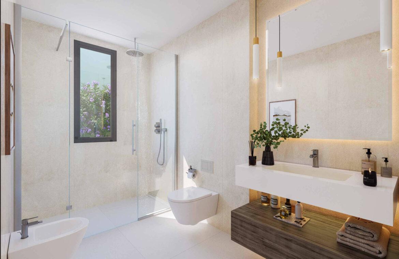 la finca de jasmine benahavis costa del sol spanje vamoz nieuwbouw moderne villa te koop zeezicht modern laurel badkamer