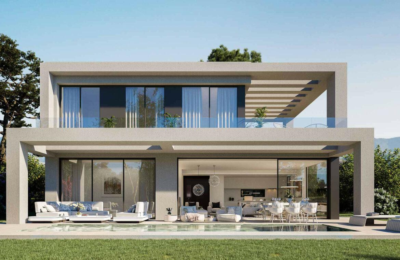 la finca de jasmine benahavis costa del sol spanje vamoz nieuwbouw moderne villa te koop zeezicht modern laurel design