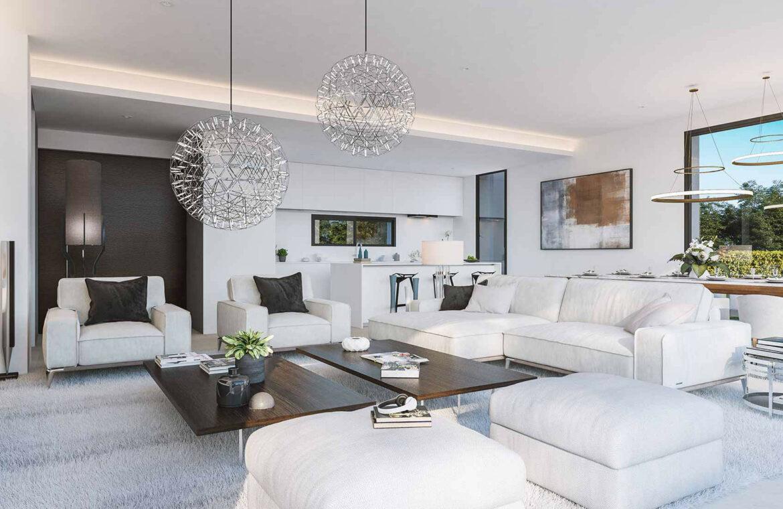 la finca de jasmine benahavis costa del sol spanje vamoz nieuwbouw moderne villa te koop zeezicht modern laurel salon