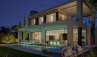 la finca de jasmine benahavis costa del sol spanje vamoz nieuwbouw moderne villa te koop zeezicht modern laurel terras