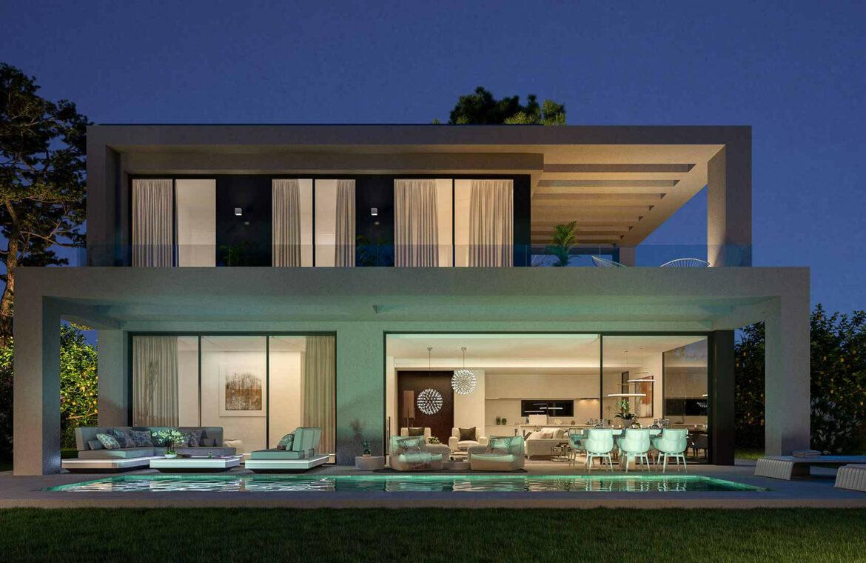 la finca de jasmine benahavis costa del sol spanje vamoz nieuwbouw moderne villa te koop zeezicht modern laurel tuin
