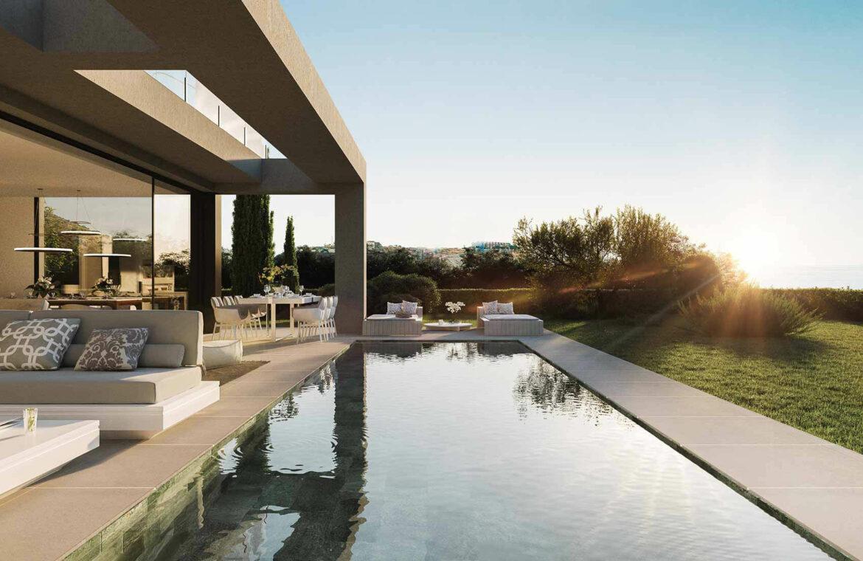 la finca de jasmine benahavis costa del sol spanje vamoz nieuwbouw moderne villa te koop zeezicht modern laurel zwembad
