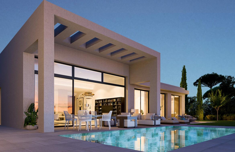 la finca de jasmine benahavis costa del sol spanje vamoz nieuwbouw moderne villa te koop zeezicht modern romero zwembad