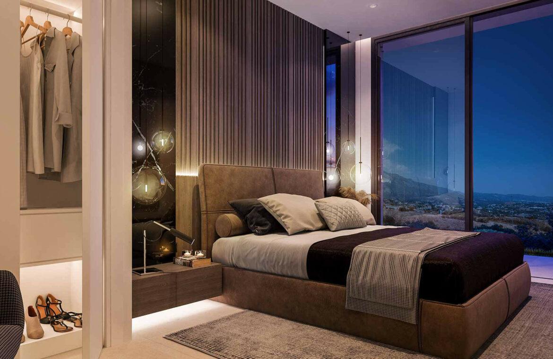 la finca de jasmine benahavis costa del sol spanje vamoz nieuwbouw moderne villa te koop zeezicht modern tomillo slaapkamer