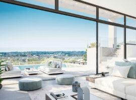 la finca de jasmine benahavis costa del sol spanje vamoz nieuwbouw moderne villa te koop zeezicht modern tomillo terras