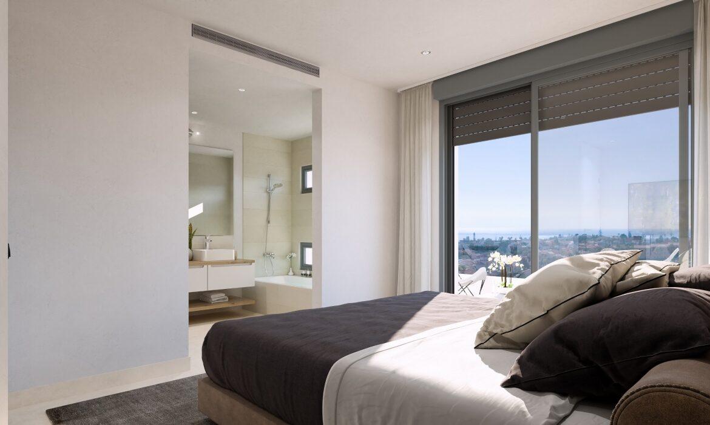 monterrey residencial mijas costa spanje vamoz nieuwbouw appartement kopen kleinschalig zeezicht wandelafstand strand badkamer