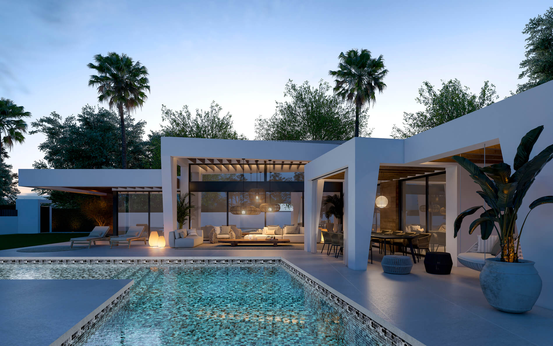 marein natura nueva andalucia moderne nieuwbouw villa laurus kopen vamoz marbella costa del sol spanje zwembad