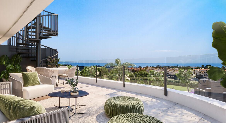 oasis325 fase2 nieuwbouw appartement te koop selwo new golden mile vamoz marbella estepona costa del sol spanje terras