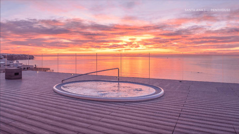 santa ana eerstelijns zee penthouse te koop estepona costa del sol spanje vamoz marbella jacuzzi
