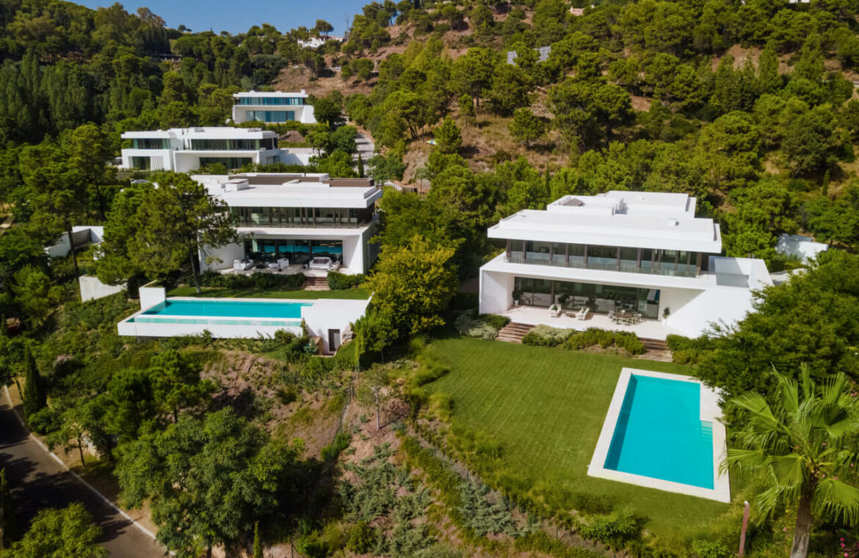 el bosque reserva alcuzcuz benahavis vamoz marbella costa del sol spanje nieuwbouw villa zeezicht te koop 8 complex