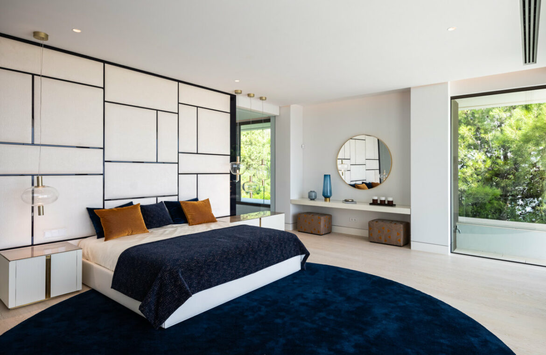 el bosque reserva alcuzcuz benahavis vamoz marbella costa del sol spanje nieuwbouw villa zeezicht te koop 8 master