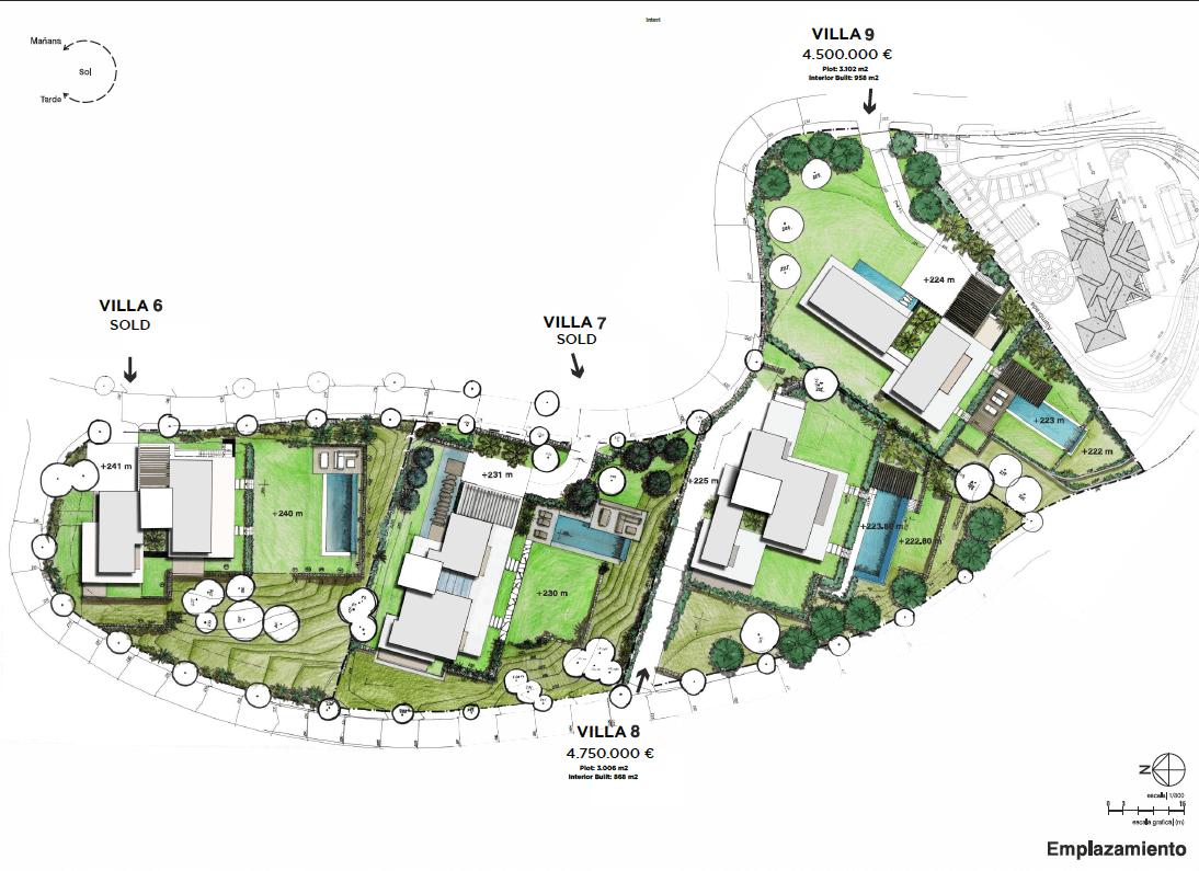 el bosque reserva alcuzcuz benahavis vamoz marbella costa del sol spanje nieuwbouw villa zeezicht te koop masterplan