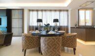 epic vamoz marbella golden mile costa del sol spanje appartement penthouse kopen luxe exclusief zeezicht eetkamer