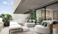 epic vamoz marbella golden mile costa del sol spanje appartement penthouse kopen luxe exclusief zeezicht ligbed
