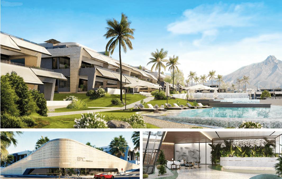 epic vamoz marbella golden mile costa del sol spanje appartement penthouse kopen luxe exclusief zeezicht overzicht