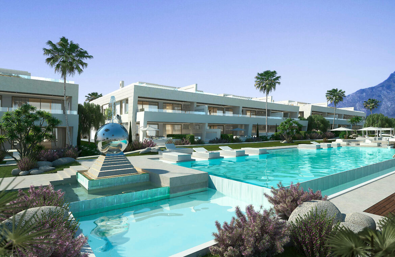 epic vamoz marbella golden mile costa del sol spanje appartement penthouse kopen luxe exclusief zeezicht project