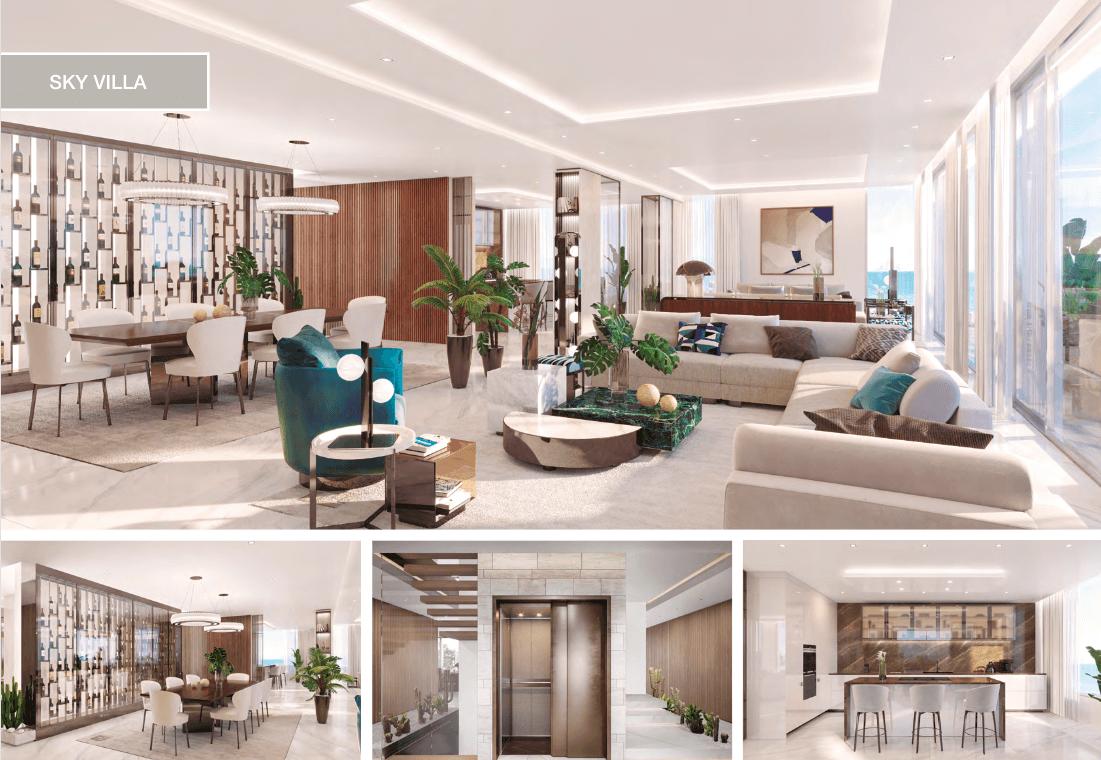 epic vamoz marbella golden mile costa del sol spanje appartement penthouse kopen luxe exclusief zeezicht skyvilla salon
