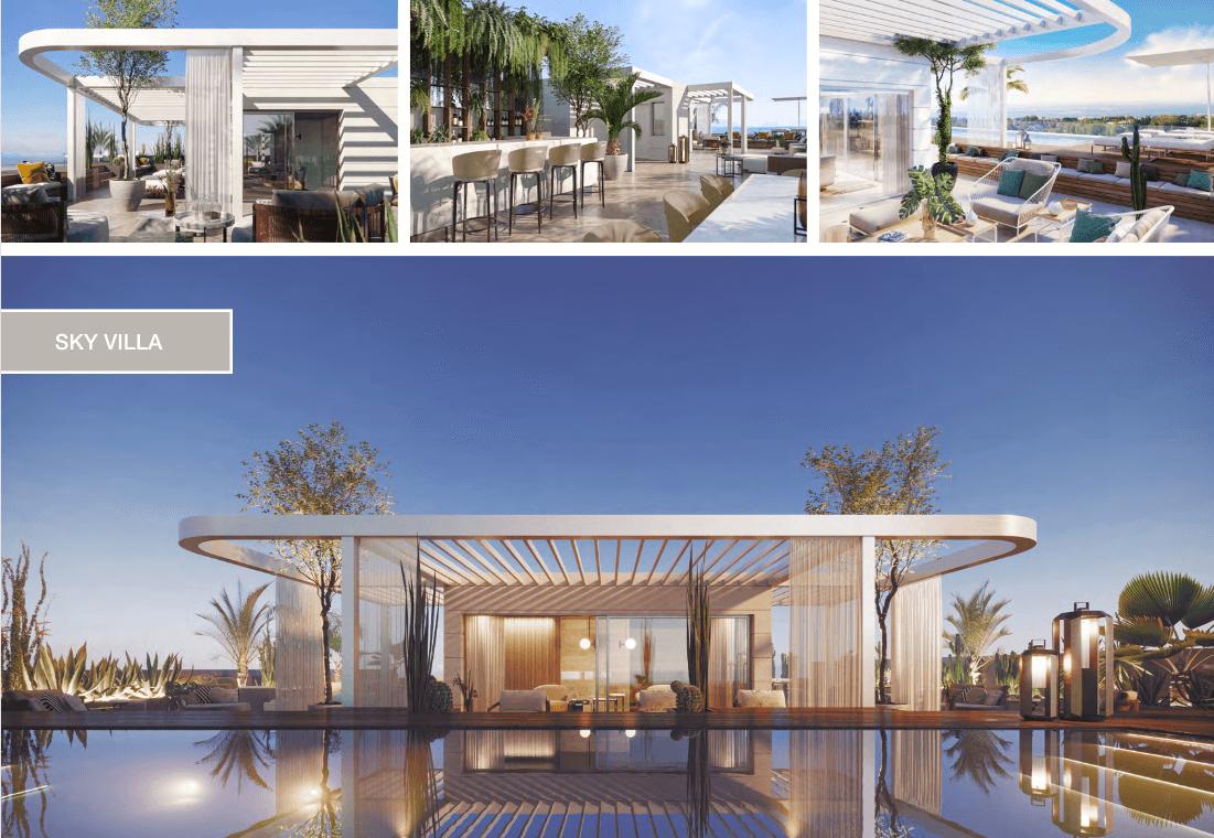epic vamoz marbella golden mile costa del sol spanje appartement penthouse kopen luxe exclusief zeezicht skyvilla solarium