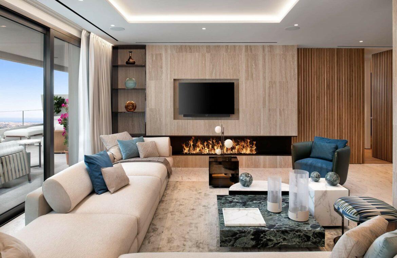 epic vamoz marbella golden mile costa del sol spanje appartement penthouse kopen luxe exclusief zeezicht sofa
