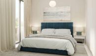 los miradores del sol cancelada estepona spanje vamoz marbella townhouse huis te koop wandelafstand zee nieuwbouw slaapkamer