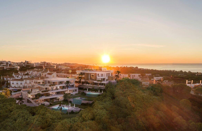 marbella sunset cabopino kleinschalig nieuwbouw appartementen te koop vamoz marbella costa del sol ligging