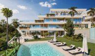 marbella sunset cabopino kleinschalig nieuwbouw appartementen te koop vamoz marbella costa del sol tuin