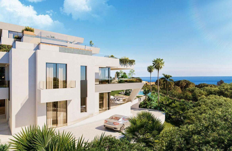marbella sunset cabopino kleinschalig nieuwbouw appartementen te koop vamoz marbella costa del sol zeezicht