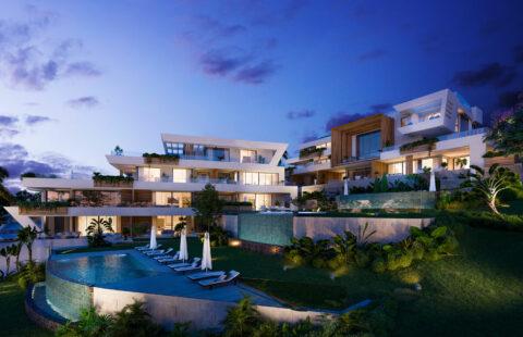Marbella Sunset: kleinschalig eerstelijns golf nieuwbouw project in Cabopino