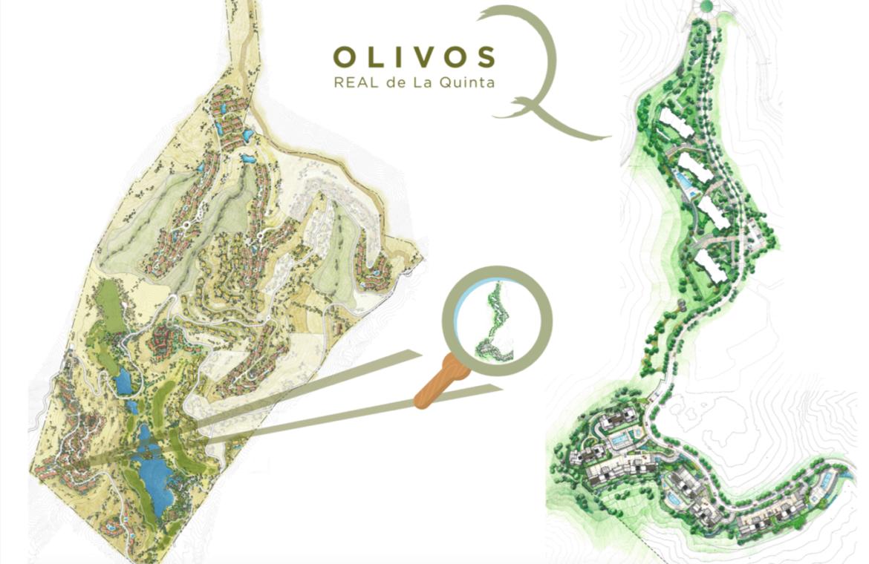 olivos real de la quinta benahavis costa del sol spanje vamoz marbella resort zeezicht blok 6 complex