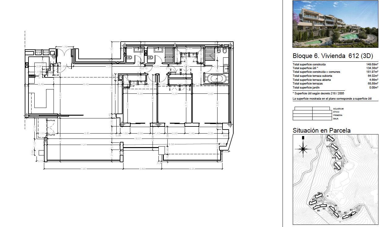 olivos real de la quinta benahavis costa del sol spanje vamoz marbella resort zeezicht blok 6 plan